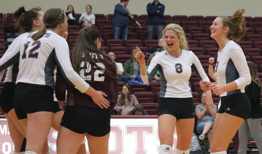 Volleyball Ranked Third in MIAA Following Trip to Semifinals