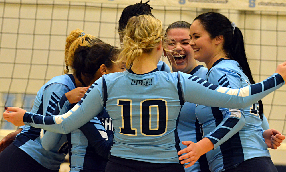 Women's volleyball set for regular season after sweeping Wannamaker Invitational