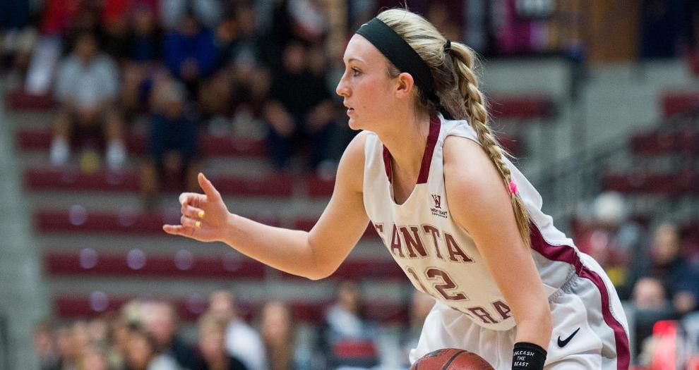 Women's Basketball Tops Portland; Faces San Diego Tomorrow at 2 in Quarterfinals