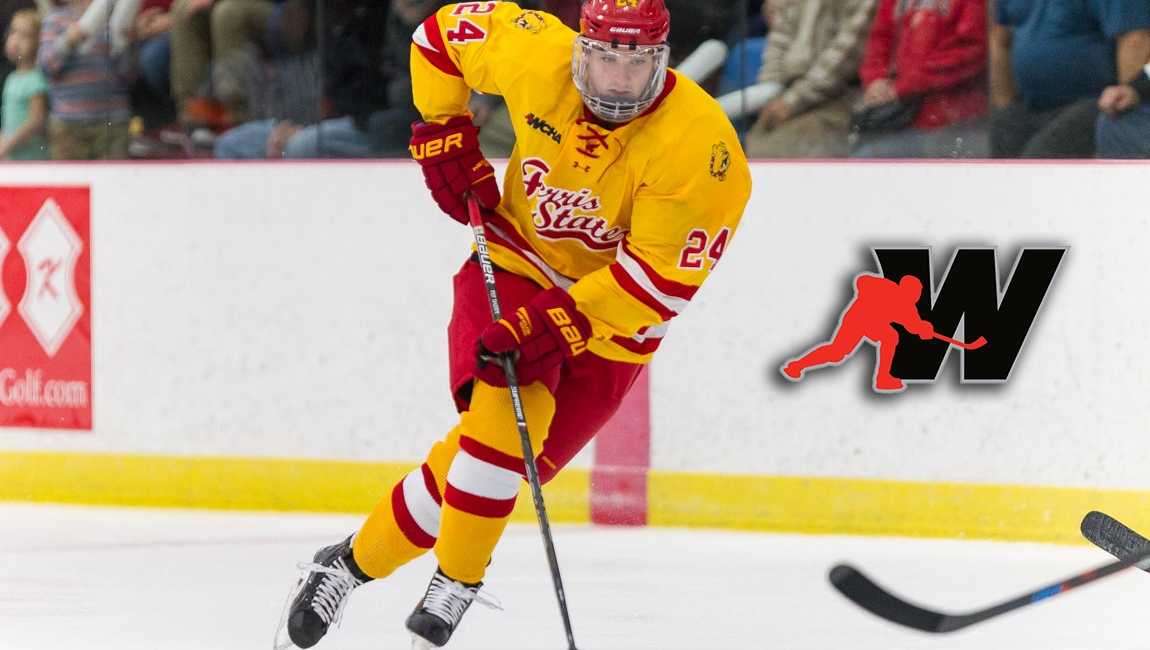 Ferris State's Craig Pefley Garners WCHA Rookie Of The Week Recognition