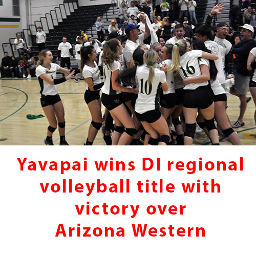 Yavapai takes DI volleyball regional title