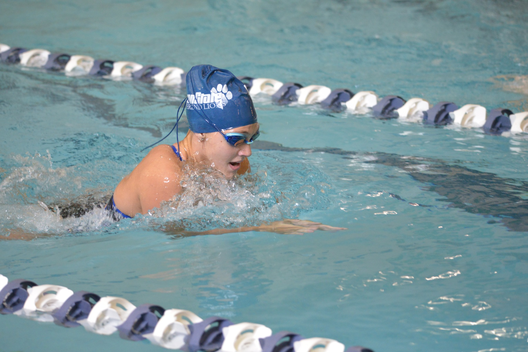 Women's Swimming and Diving Falls Short To Alfred State