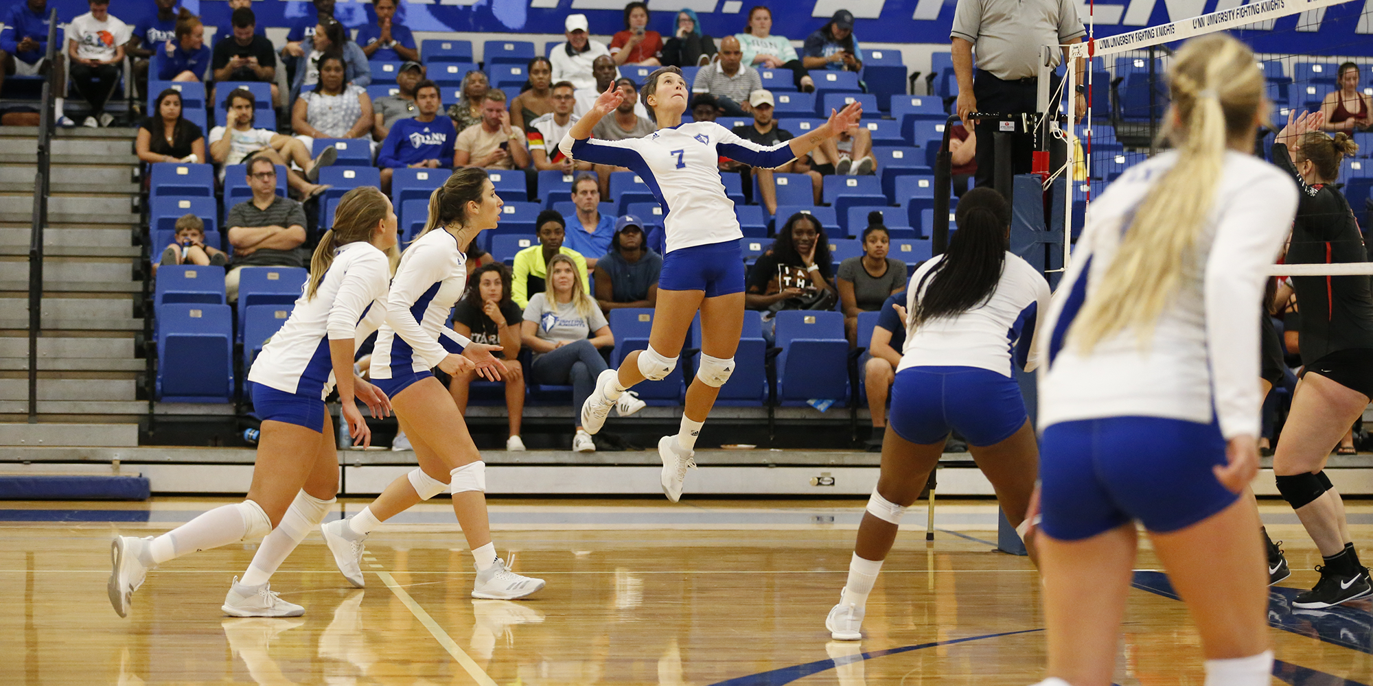 Udovcic joins the 1,000/1,000 Club Highlighting Volleyball's Day 2 Sweep.