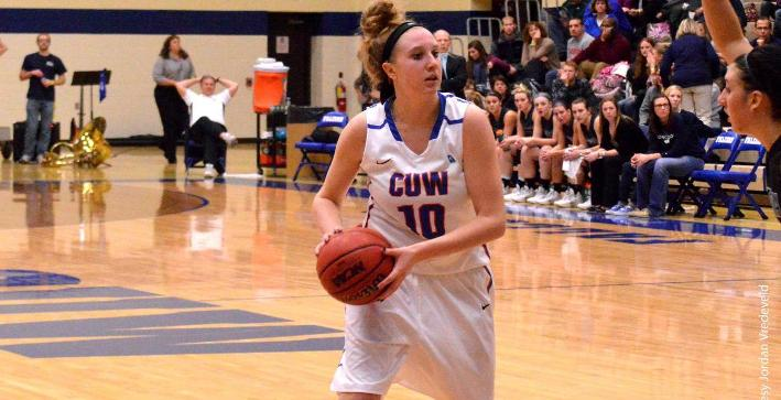 Women's Basketball dominates second half, downs Aurora for road win