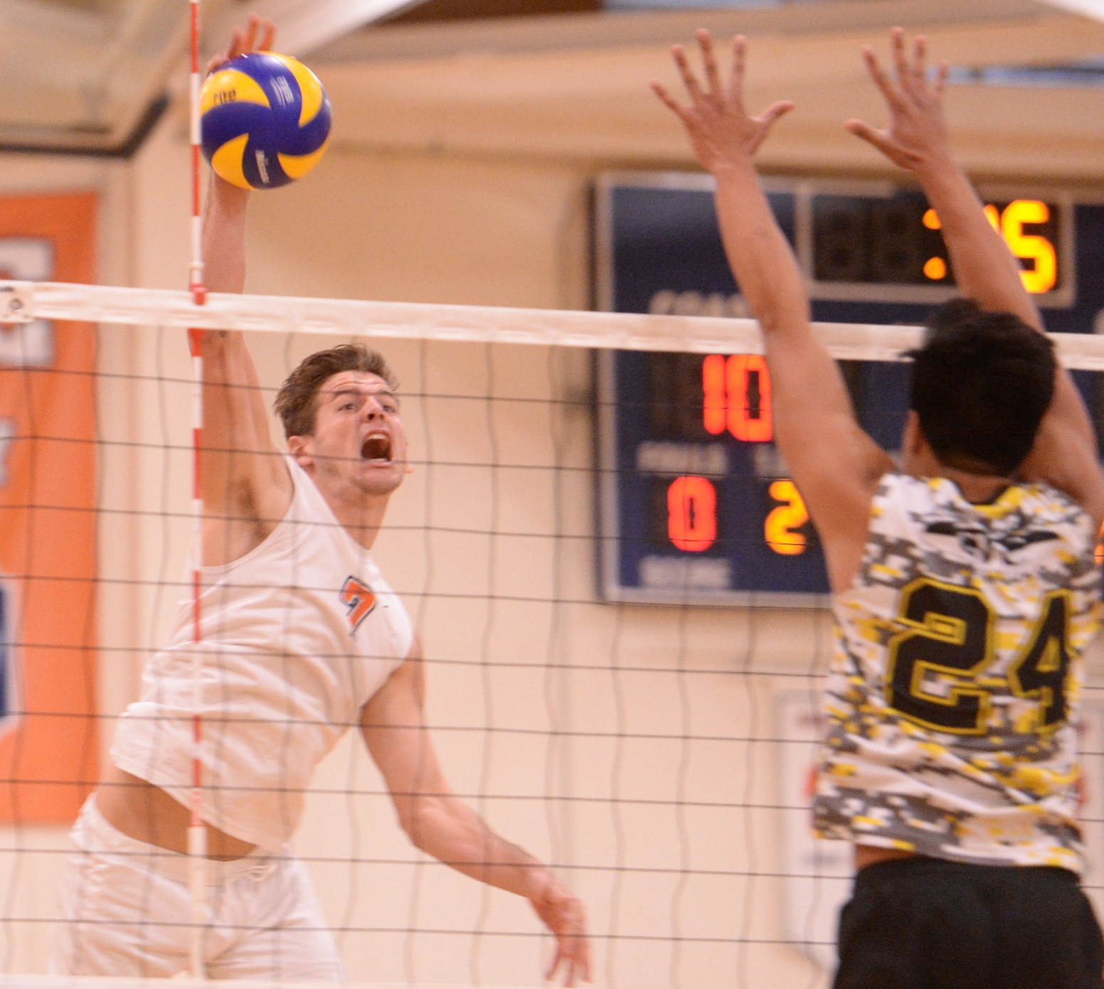 Pirates rally to top Hornets in five sets... Again!