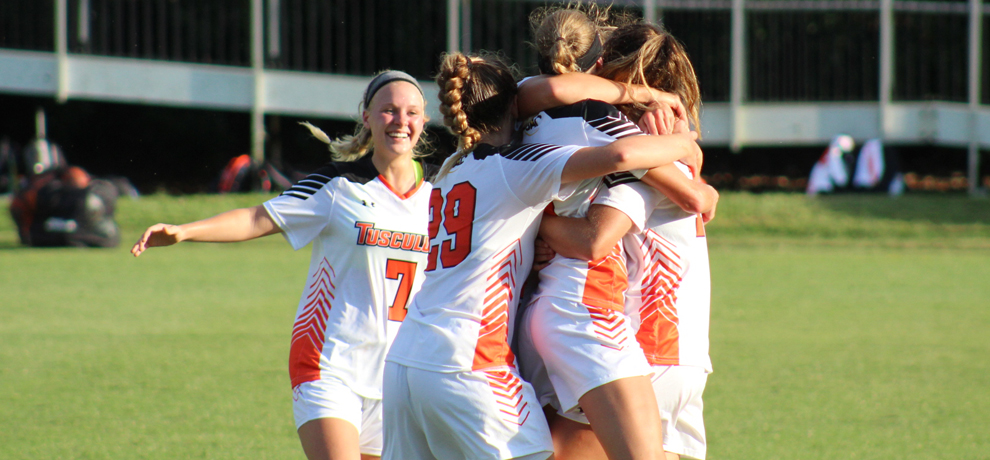 Tusculum opens SAC schedule with 2-1 win over Queens