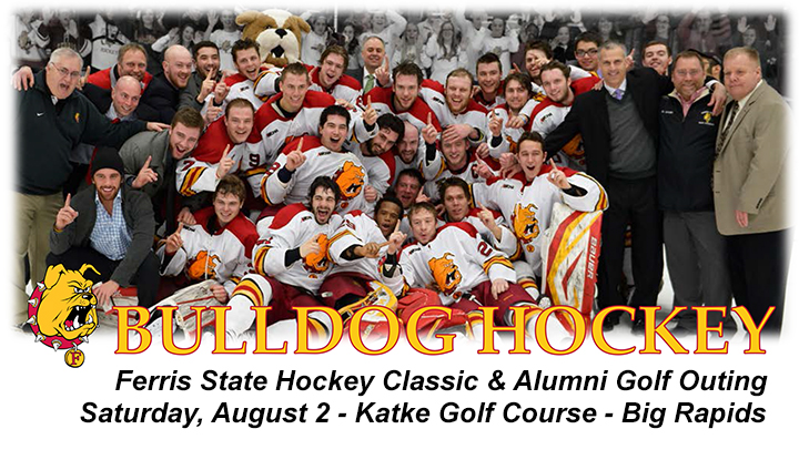 28th Annual Bulldog Hockey Classic-Alumni Golf Outing Set For August 2