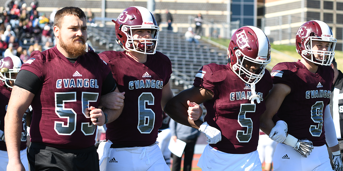 No. 9 Evangel Football Continues Playoff Push Saturday at Central Methodist
