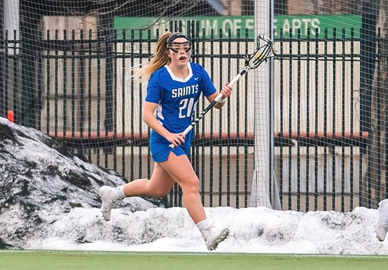 JWU TOPS WOMEN'S LACROSSE IN GNAC ACTION
