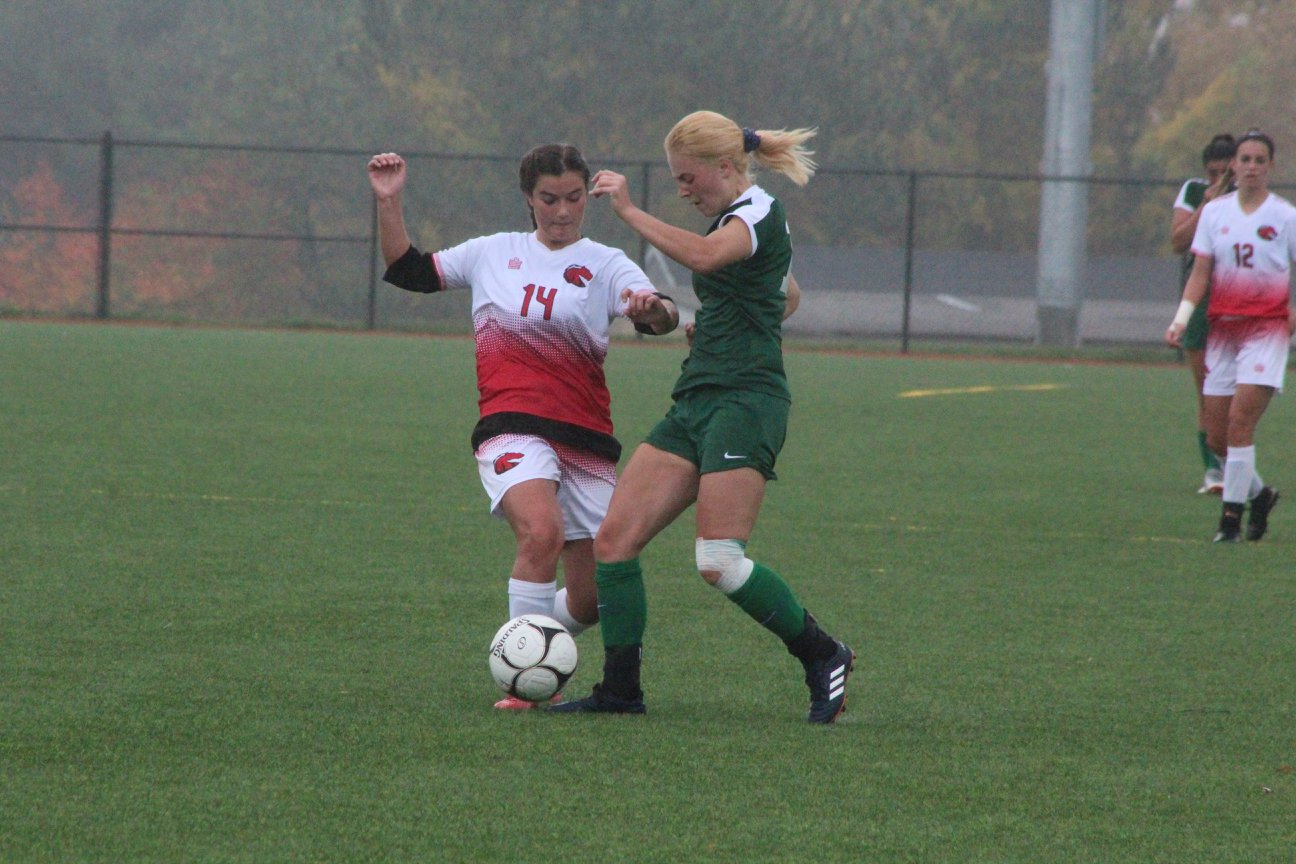 Women's Soccer torched by CCRI
