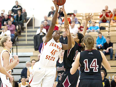 Ferris State Uses Strong Final Half To Earn Win