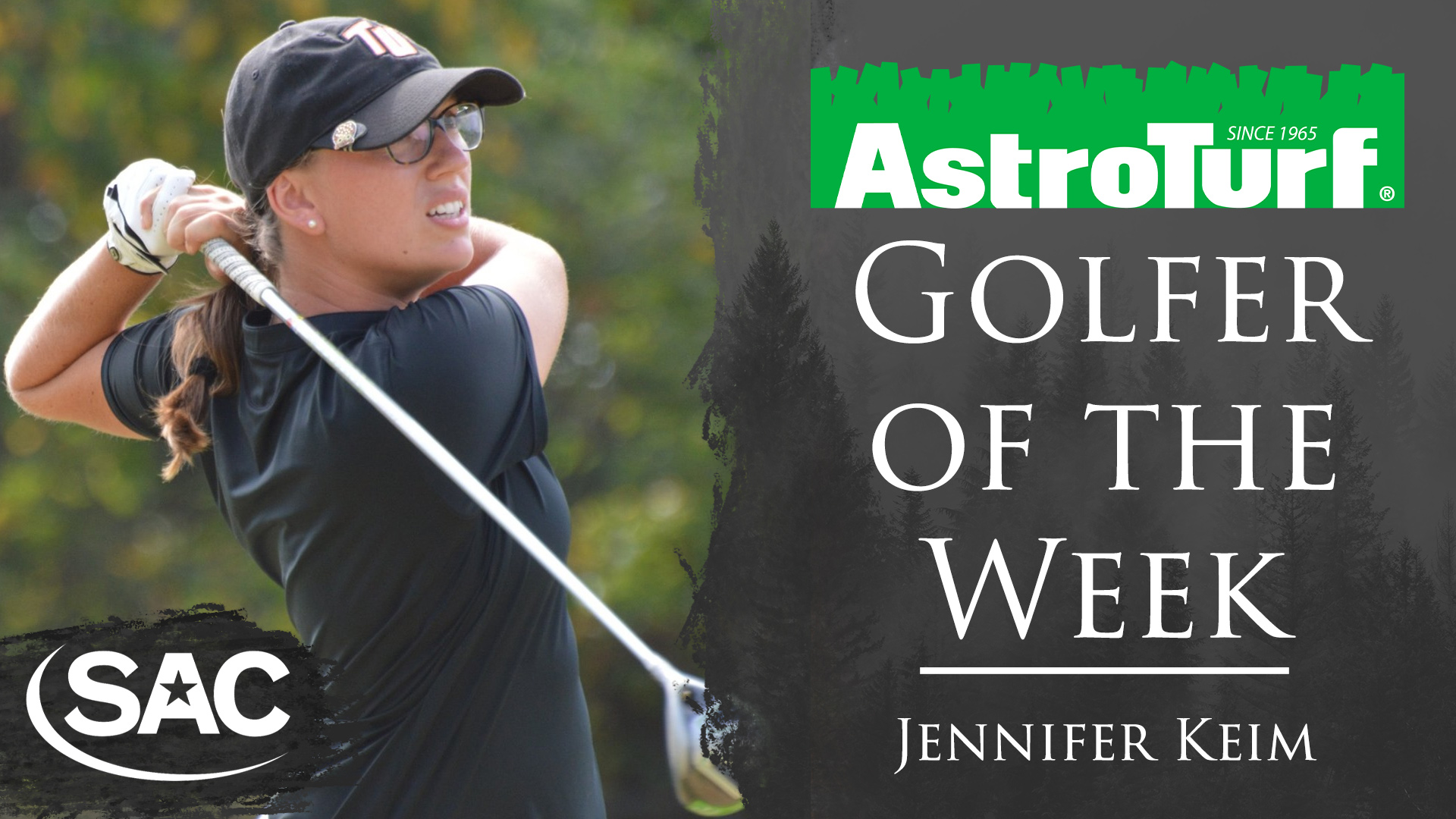 Keim named SAC Women's Golfer of the Week