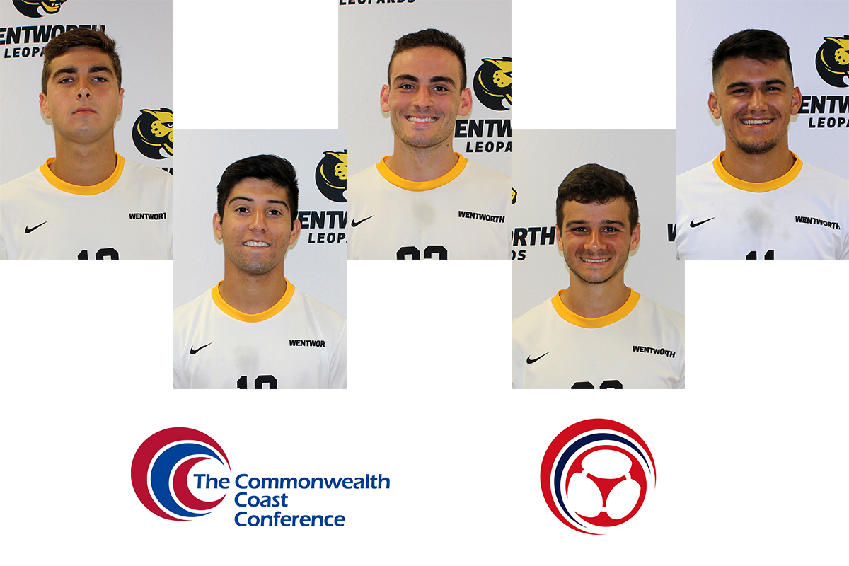 Five Men's Soccer Players Earn All-CCC Honors