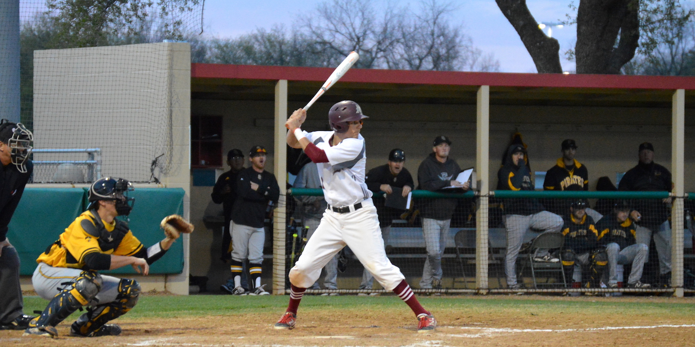 'Roo Baseball Falls to Centenary in SCAC Opener