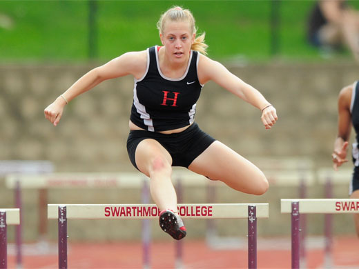 Women's track finishes 2nd at Centennial championship meet