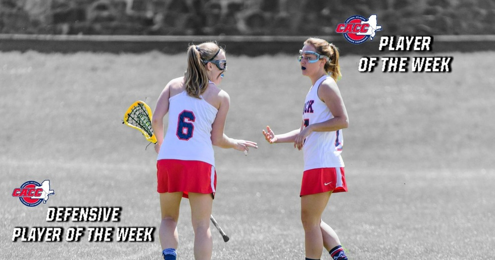 Victoria Silvers and Abby Wilmot Receive CACC Weekly Recognition