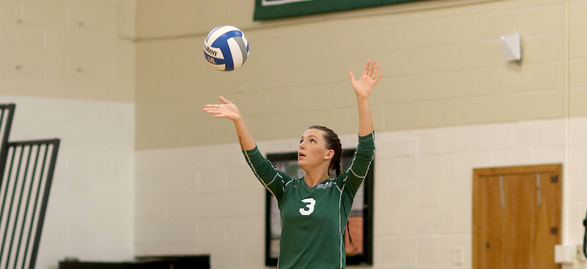 Volleyball falls in Empire 8 Action