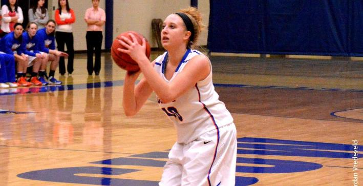 Women's Basketball gains momentum with victory at Marian