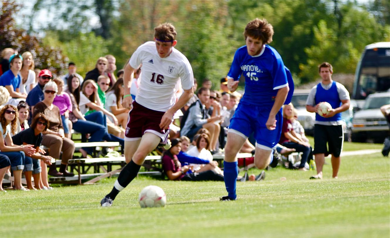 Scots Men's Soccer drops tough 3-2 game to Hanover on Saturday