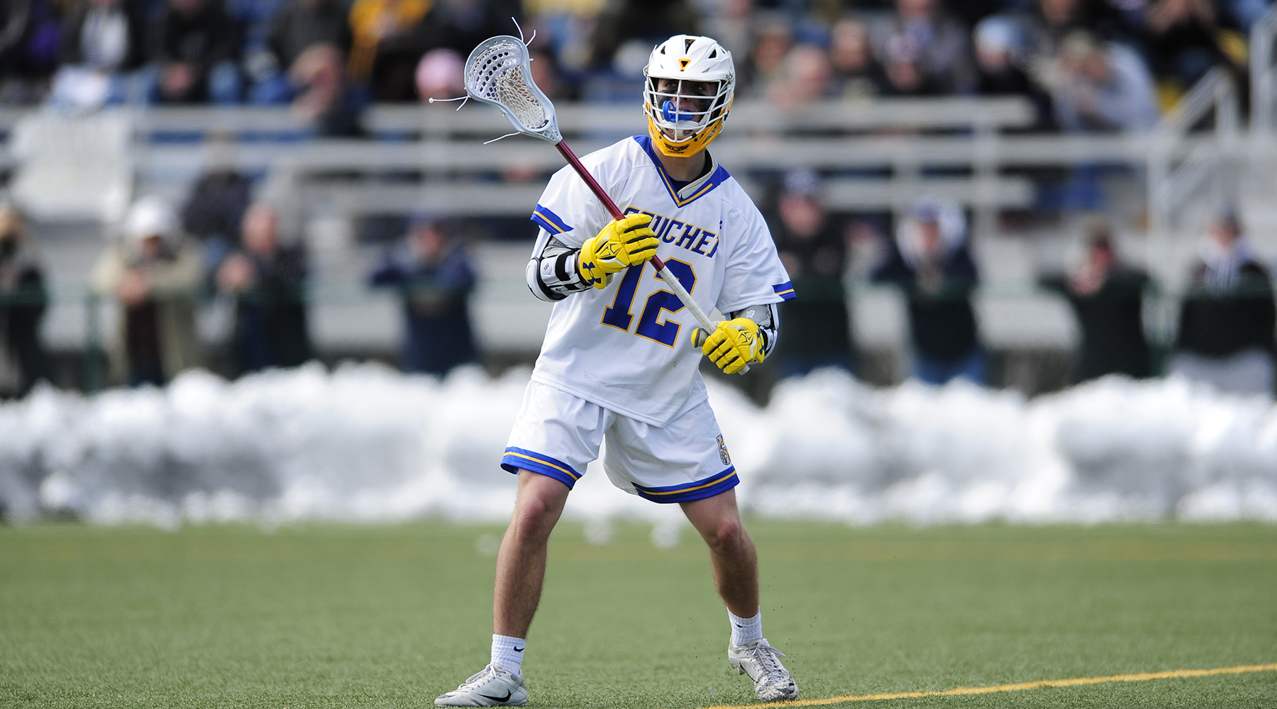 Sade's Late Goal Lifts Men's Lacrosse Past Centre, 10-9