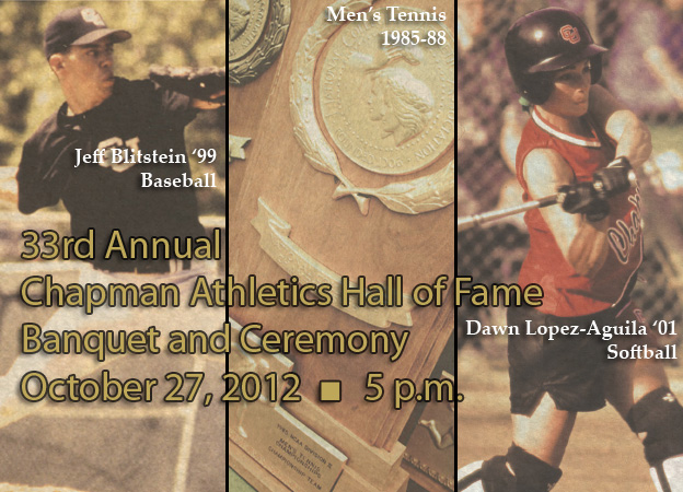Chapman introduces its Hall of Fame Class of 2012
