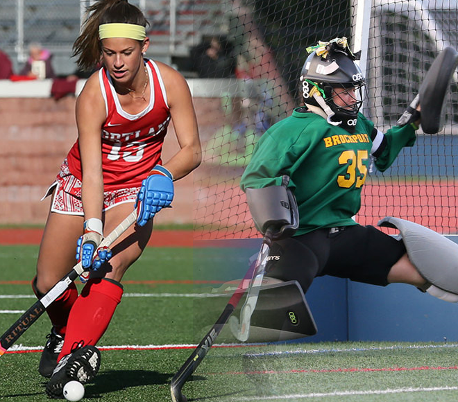Gibaldi and DeDie picked as Field Hockey Athletes of the Week
