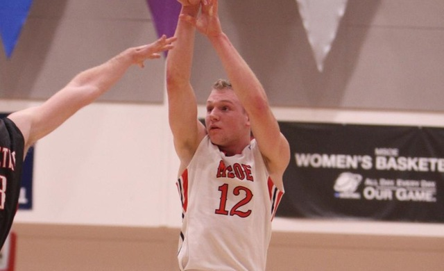 Seubert Paces Men's Basketball to Road Victory