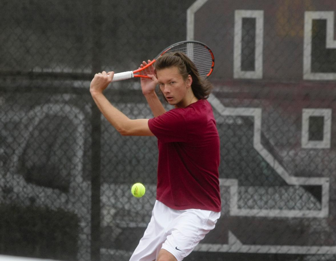 Osintsev of No. 53 Men's Tennis Named WCC Singles Player of the Week