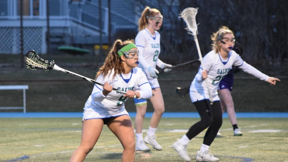 Salve Regina scored seven unanswered goals in the second half but could not pull out the comeback versus Curry (Photo by Jennifer O'Connell).