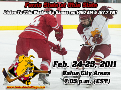Bulldog Hockey To Conclude Regular Season At Ohio State