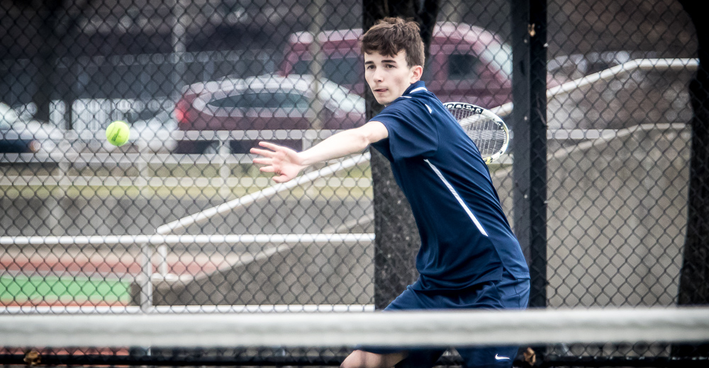 USMMA Sinks Men's Tennis in Skyline Play