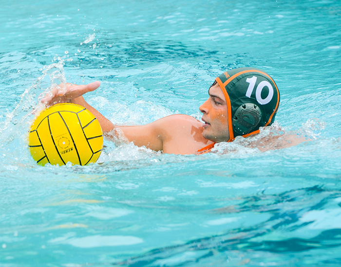 Men's Water Polo play four at Gary Troyer Tournament