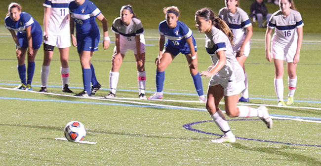 Margiottiello's Late PK Lifts Greyhounds Past Elizabethtown