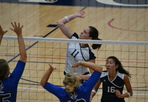 UMW Volleyball Falls at Frostburg, 3-1