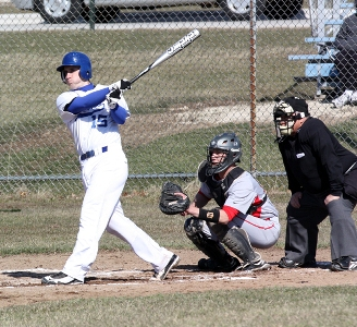Falcon baseball completes Crusader sweep
