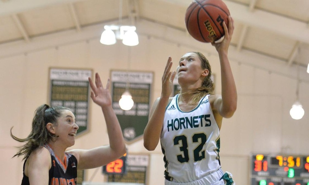 FRIEND RECORDS THIRD STRAIGHT DOUBLE-DOUBLE, BUT HORNETS FALL IN HARD-FOUGHT GAME AT EASTERN WASHINGTON