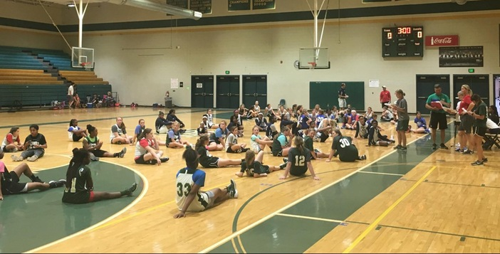 Lady Gators Host 8 to 8 Camp