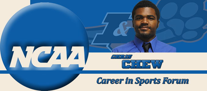 Chew Concludes NCAA Career in Sports Forum