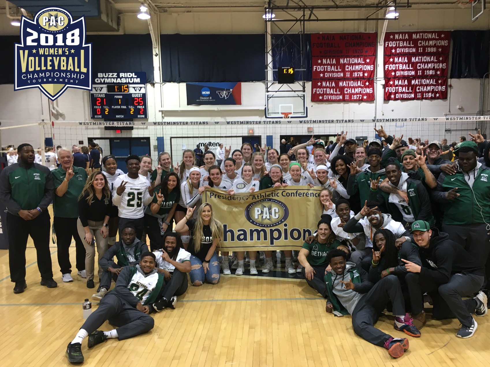 Bethany Clinches PAC Championship Title With Sweep Over Westminster