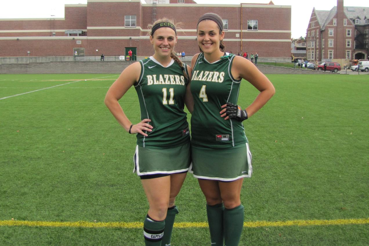 Field Hockey Knocks Off Daniel Webster College, 8-1