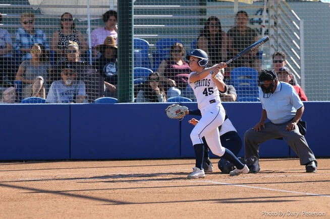 File Photo: Haley Davis went 3-for-4 and a pair of RBI for the Falcons