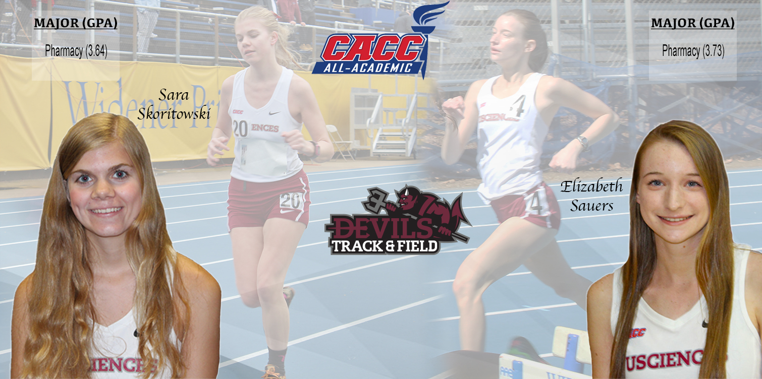 Sauers and Skoritowski Named to CACC All-Academic Team in Track and Field's First Year