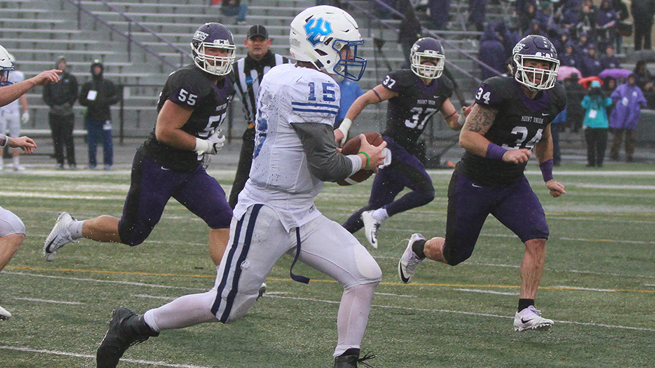 Generals Fall to Mount Union in NCAA Football First Round