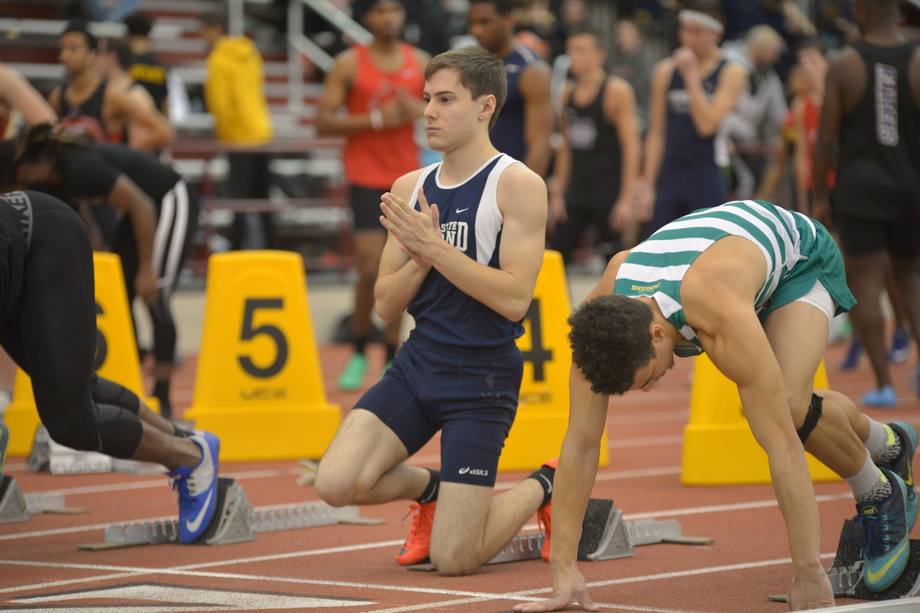 Lions Compete in Slippery Rock Meet