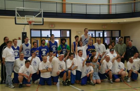 UMPI Men's Basketball & The Aroostook Co. Snow Dogs