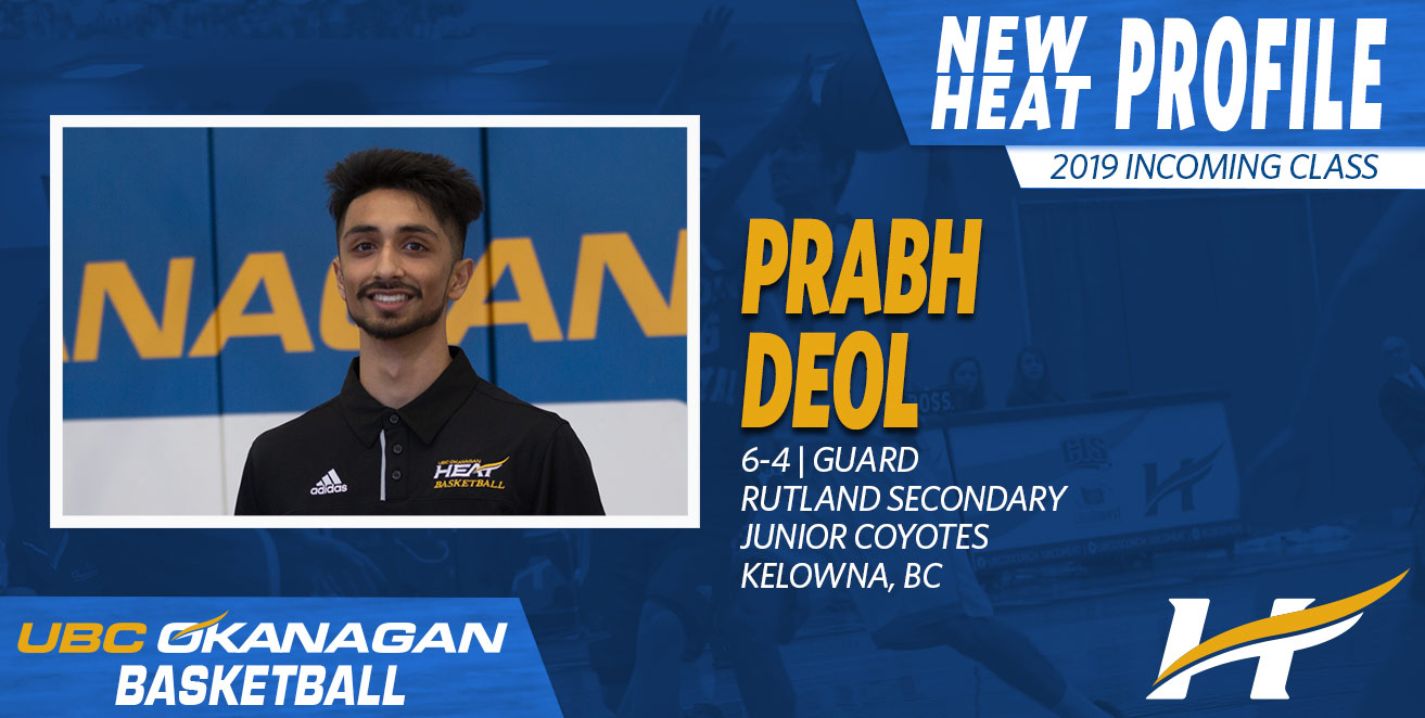 Voodoos' Deol will remain in the blue and gold for his post secondary basketball career