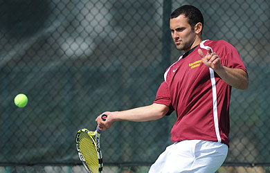 Men's tennis announces schedule changes against UMES, CNU