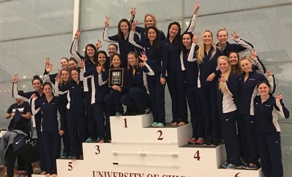 Emory Women's Swimming & Diving - UAA Champions for 19th Straight Year