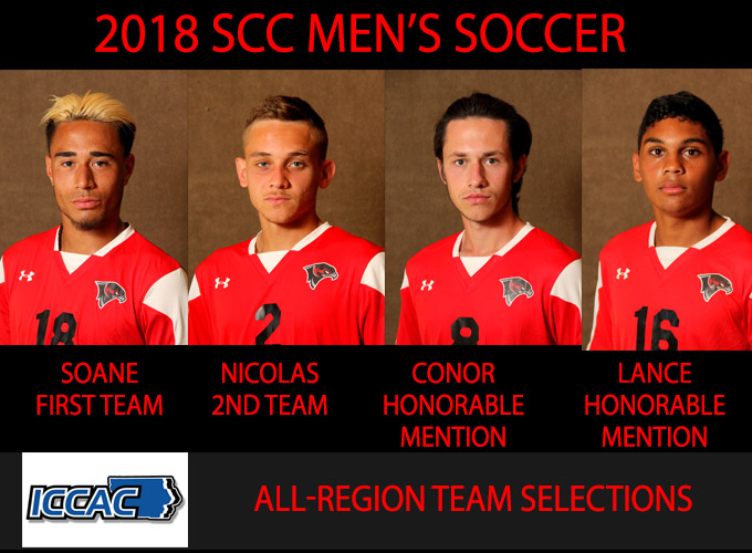 Men's Soccer Players Earn Conference Honors