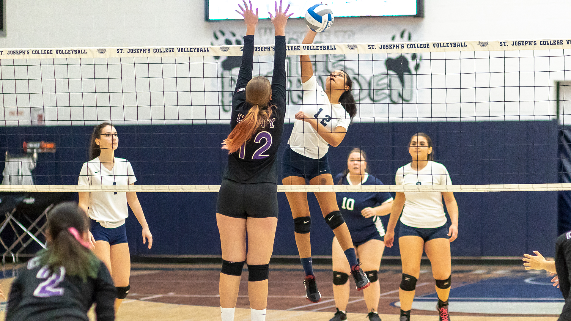 Women's Volleyball Captures Second-Straight Sweep Topping CCNY